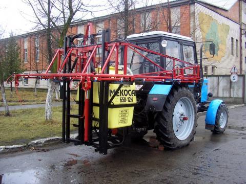 Опрыскиватель тракторный навесной своими руками